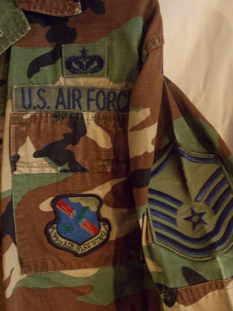 patch US 9th Air Force USAAF modèle tissé WWII 100/% ORIGINAL