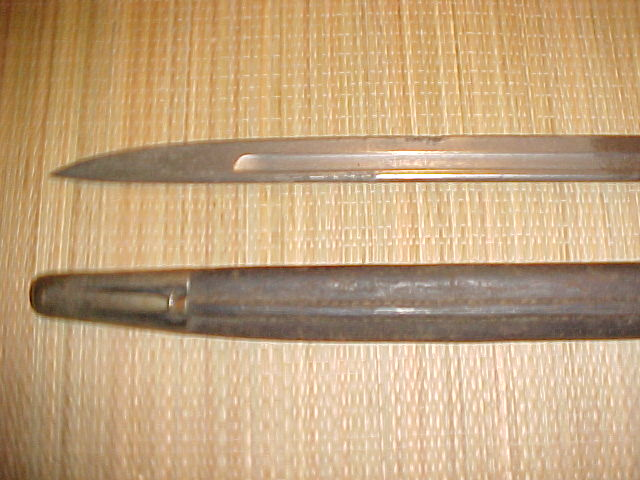 Lee Enfield Bayonet Markings http://www.d-c-militaria.be/pages/Weapons/WeaponsBritish.htm